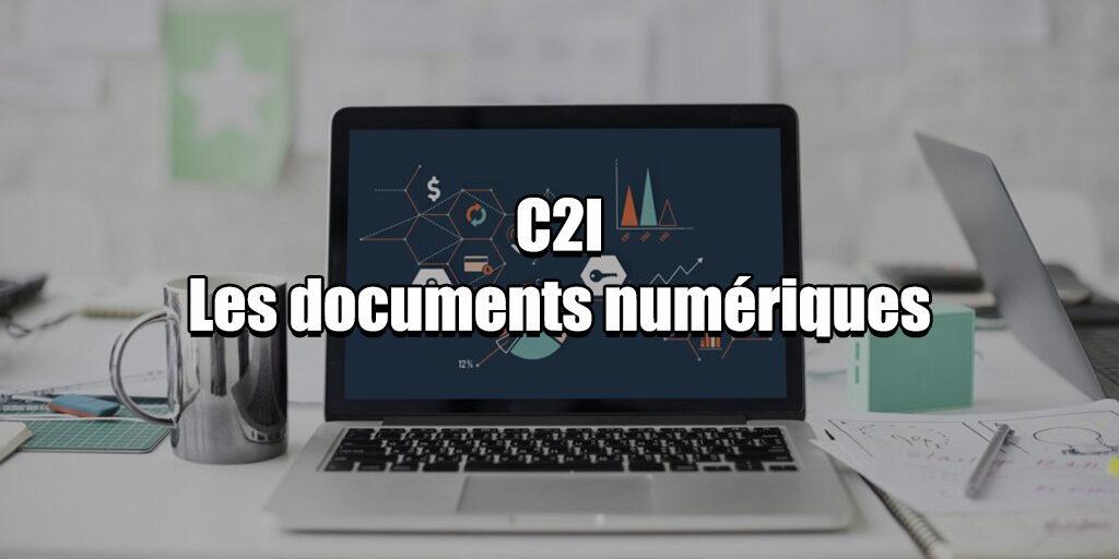 C2I Les documents numériques