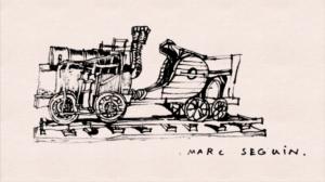 Locomotive — Petit-traité d'Histoire illustrée — CG Ardèche
