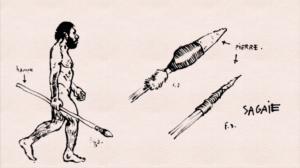 Sagaies — Petit-traité d'Histoire illustrée — CG Ardèche
