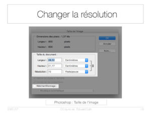 Changer la résolution
