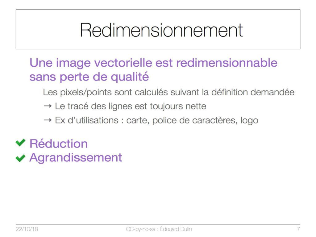 Redimensionnement