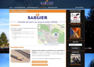 Page interne : L'association