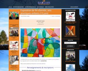 Page interne 2 colonnes : Page d'activité