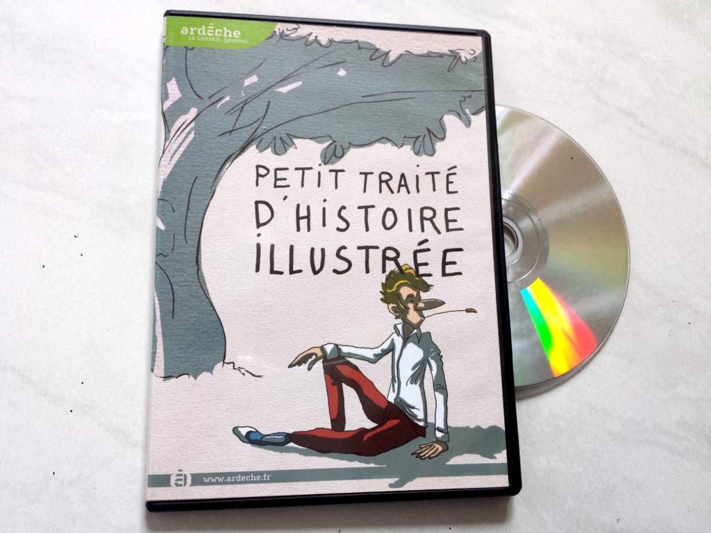 """DVD : """"Petit traité d'Histoire illustrée"""" — Conseil Général Ardèche"""