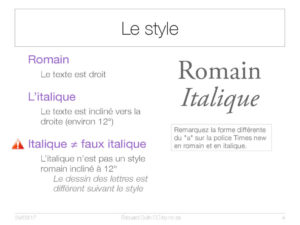 Le style