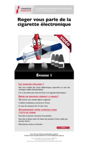 Newsletter — la e-cigarette