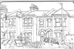 Maison pavillonnaire de Londres