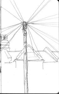 Les poteaux éléctriques de Londres