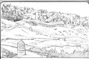 Þingvellir, rocher de la loi