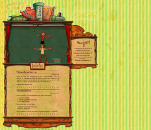 Page d'accueil — Theme wordpress original prise-de-pied