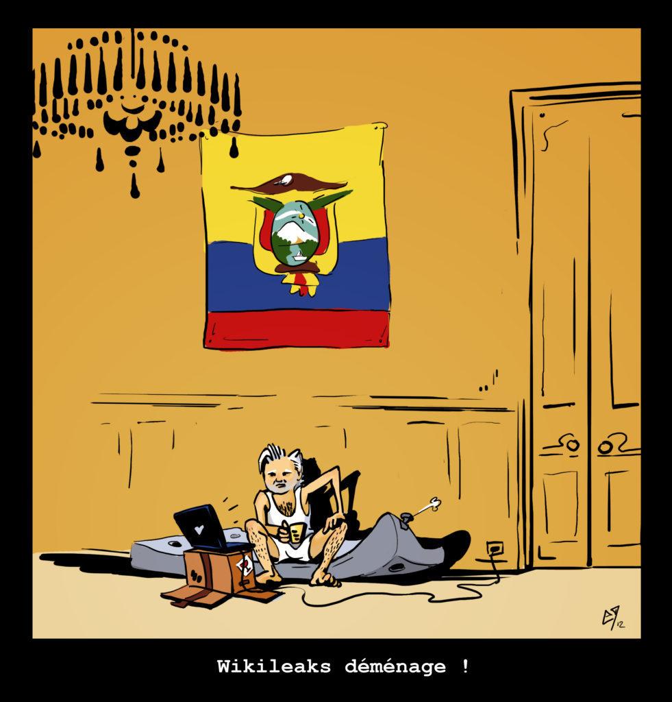 Wikileaks déménage !