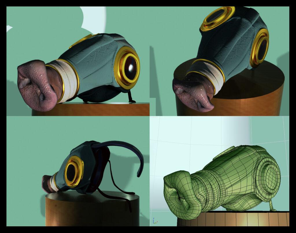 Le truffier (3Ds Max)