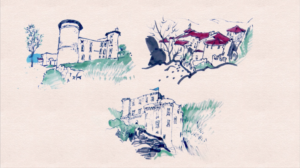 Chateaux — Petit-traité d'Histoire illustrée — CG Ardèche