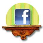 Newsletter — bouton lien Facebook