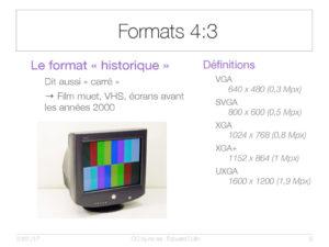 Formats 4:3