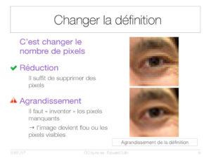 Changer la définition