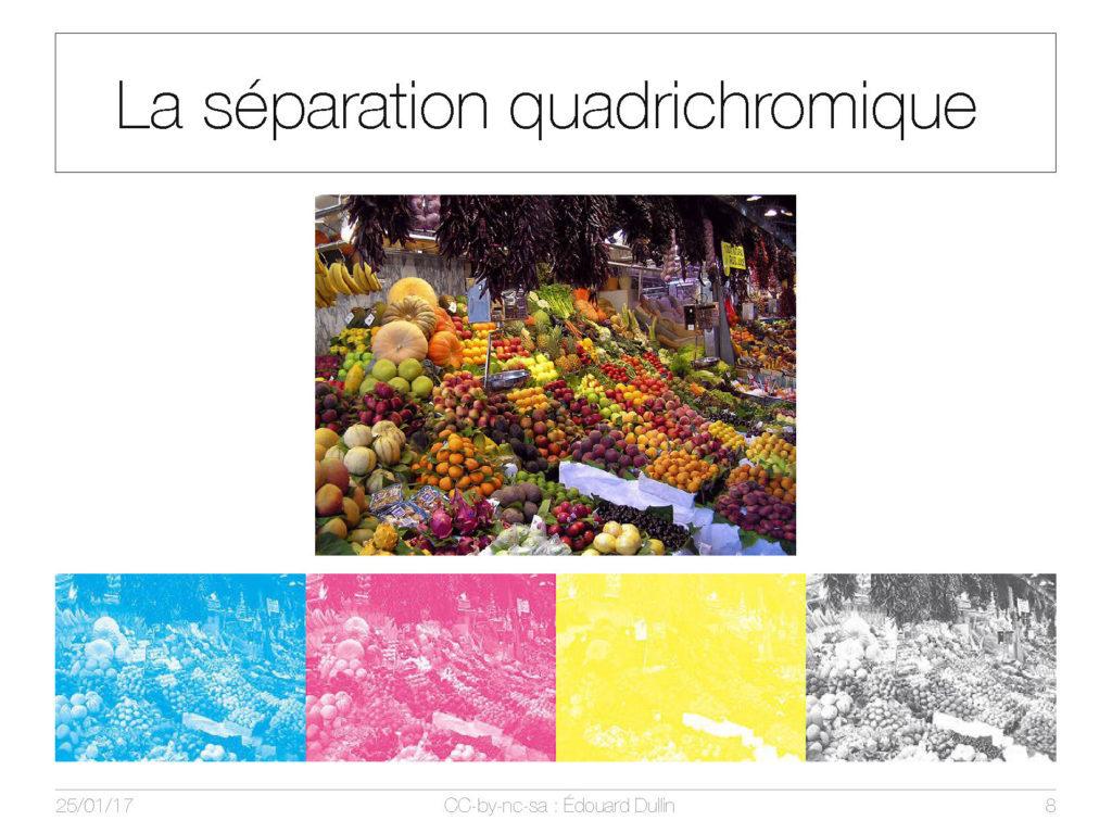 La séparation quadrichromique