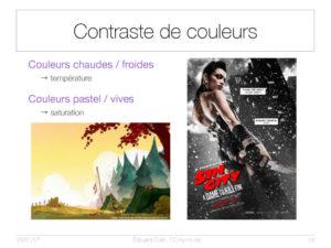 Contraste de couleurs