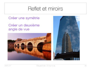 Reflet et miroirs