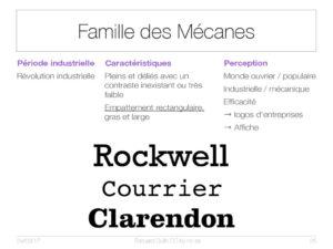 Famille des Mécanes