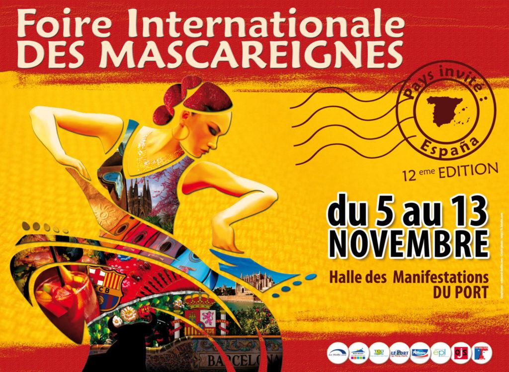 Affiche 4x3m : La Foire Internationale des Mascareignes