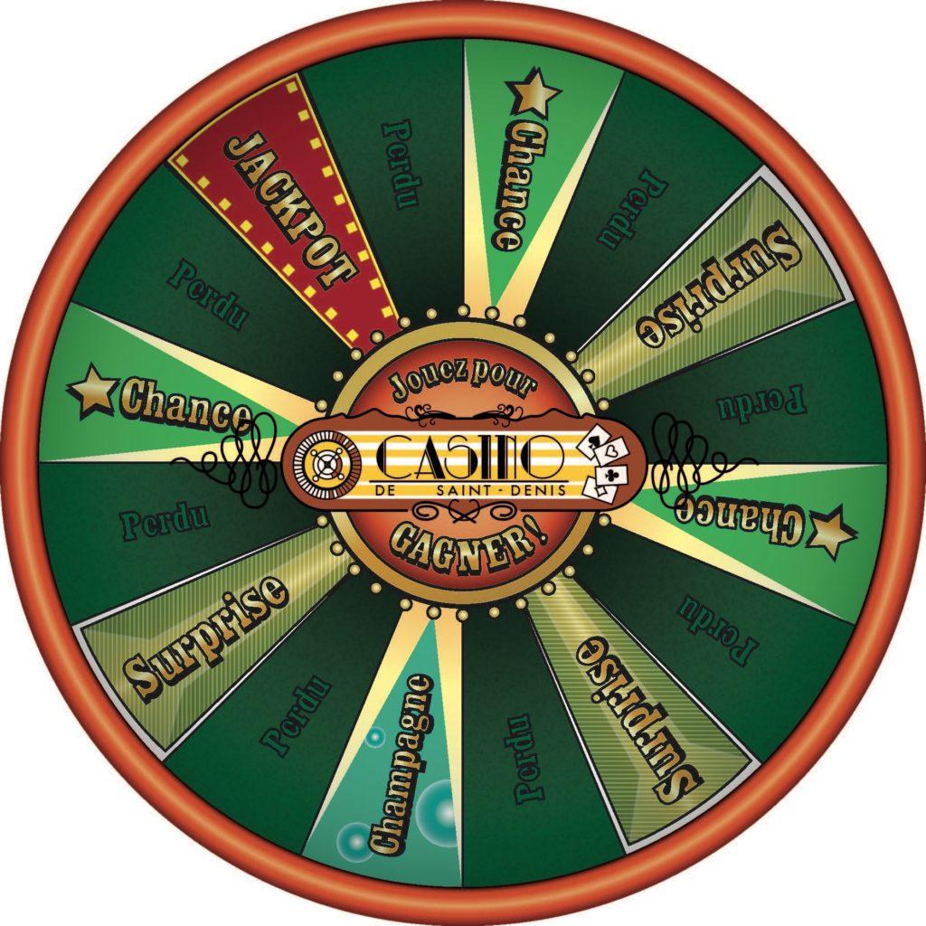 roue de la fortune Casino St Denis 974