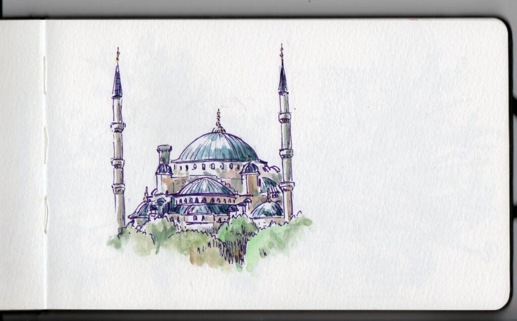 La mosquée bleu — Istanbul